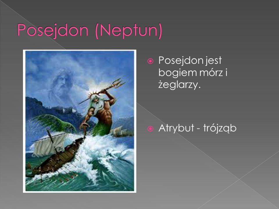 Posejdon (Neptun) Posejdon jest bogiem mórz i żeglarzy.