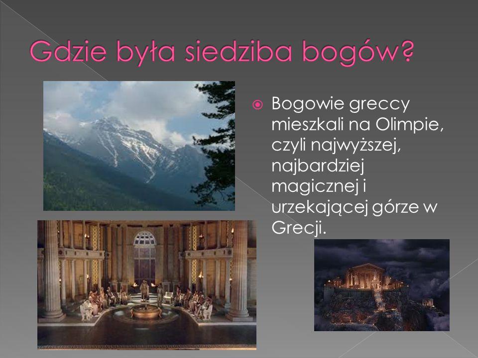 Gdzie była siedziba bogów