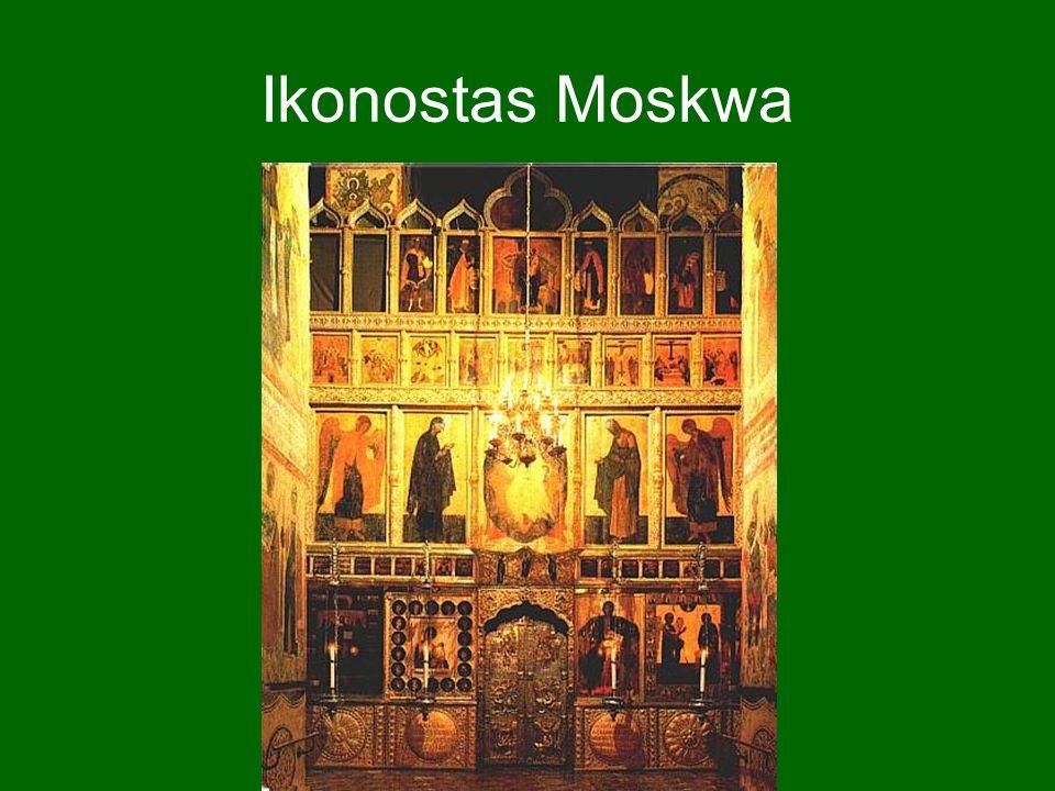 Ikonostas Moskwa