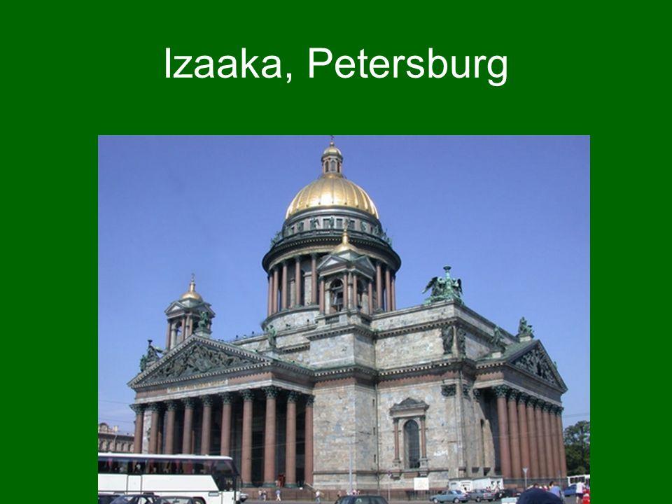 Izaaka, Petersburg