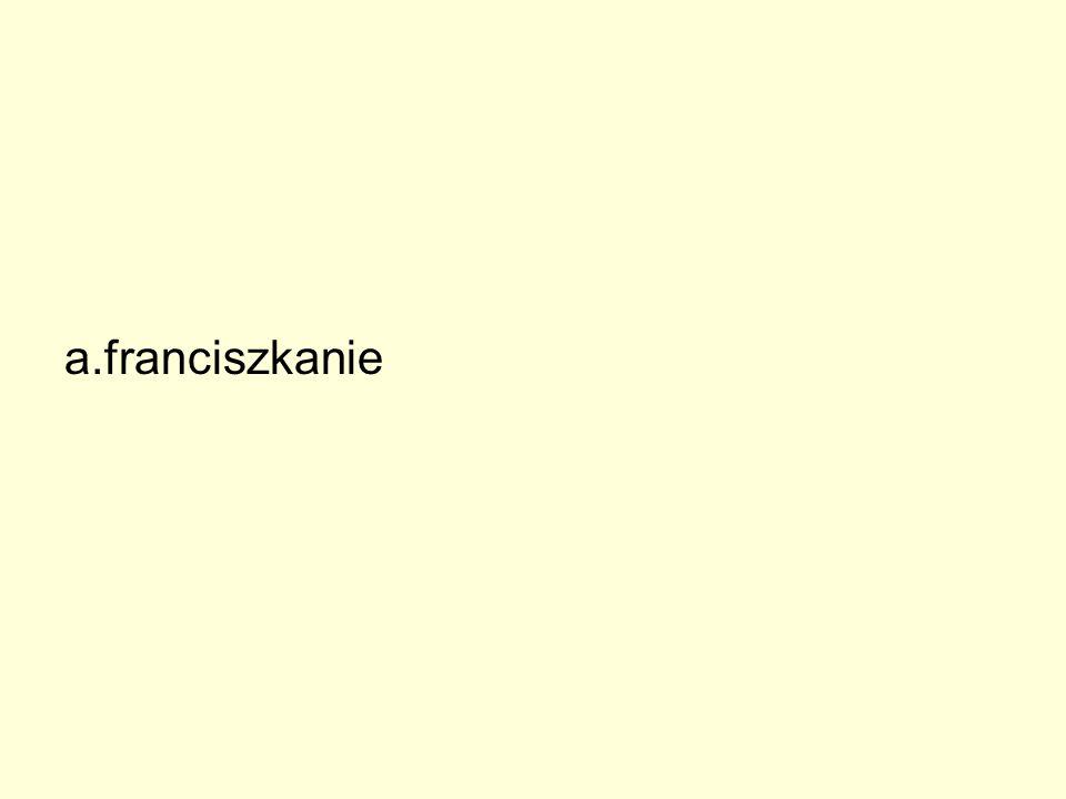 a. franciszkanie