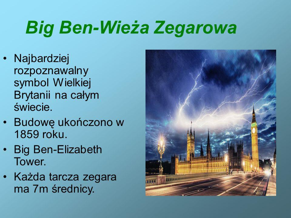 Big Ben-Wieża Zegarowa