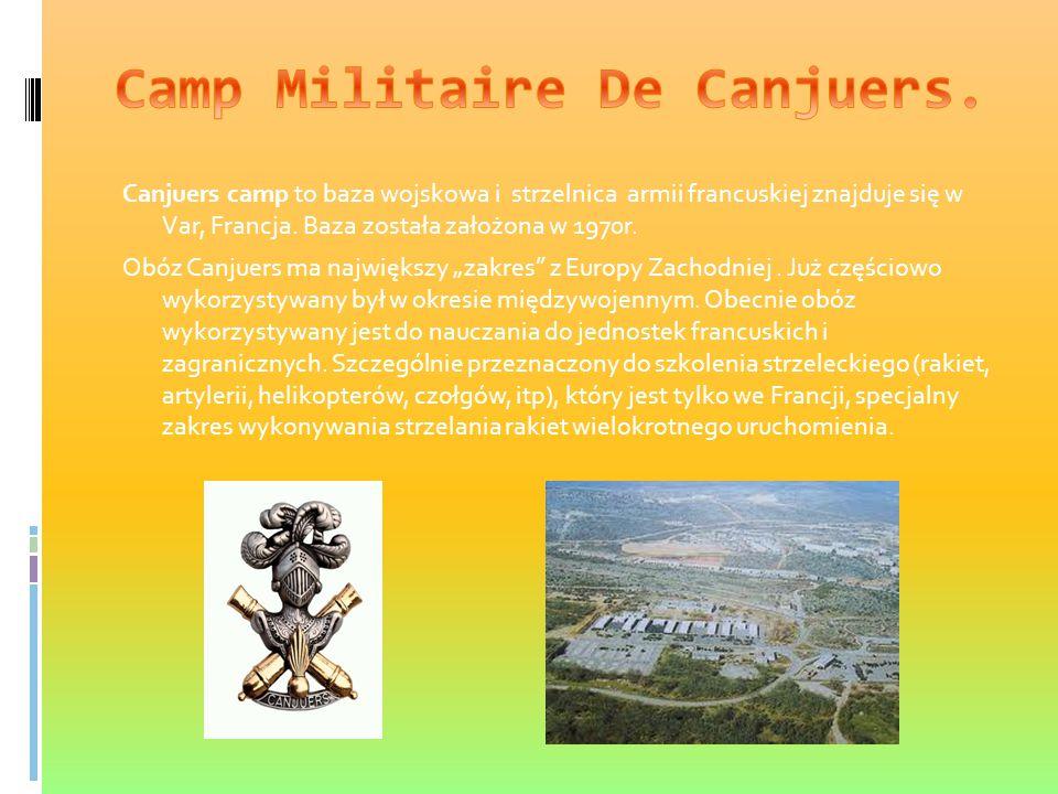 Camp Militaire De Canjuers.