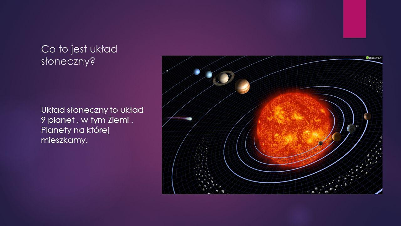 Co to jest układ słoneczny