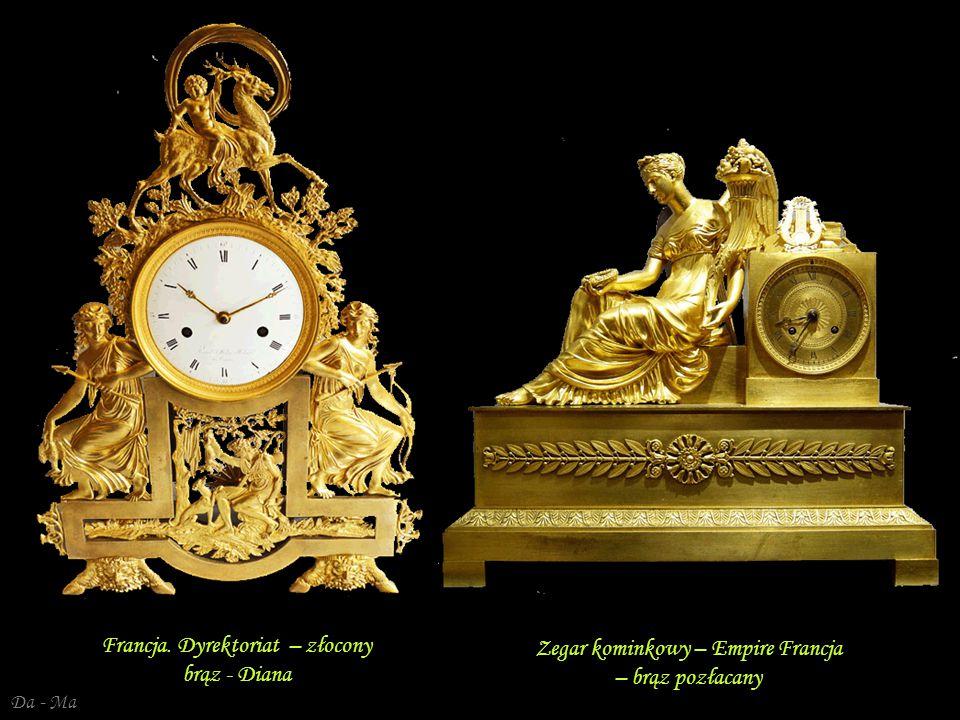 Francja. Dyrektoriat – złocony brąz - Diana