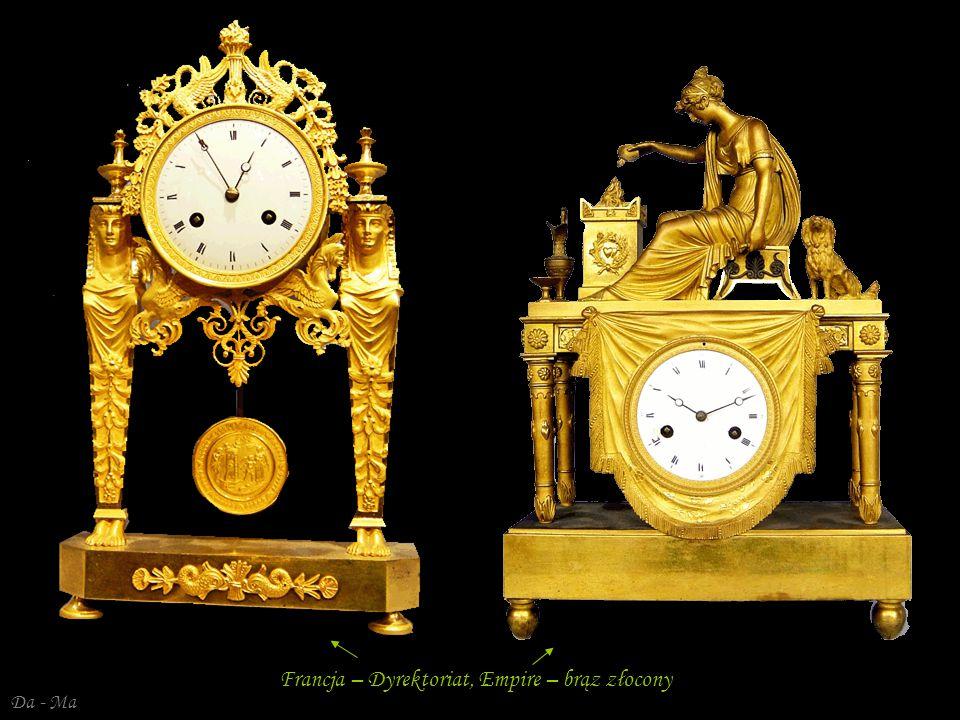 Francja – Dyrektoriat, Empire – brąz złocony