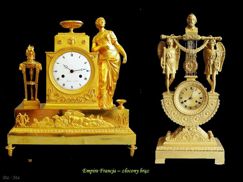 Empire Francja – złocony brąz