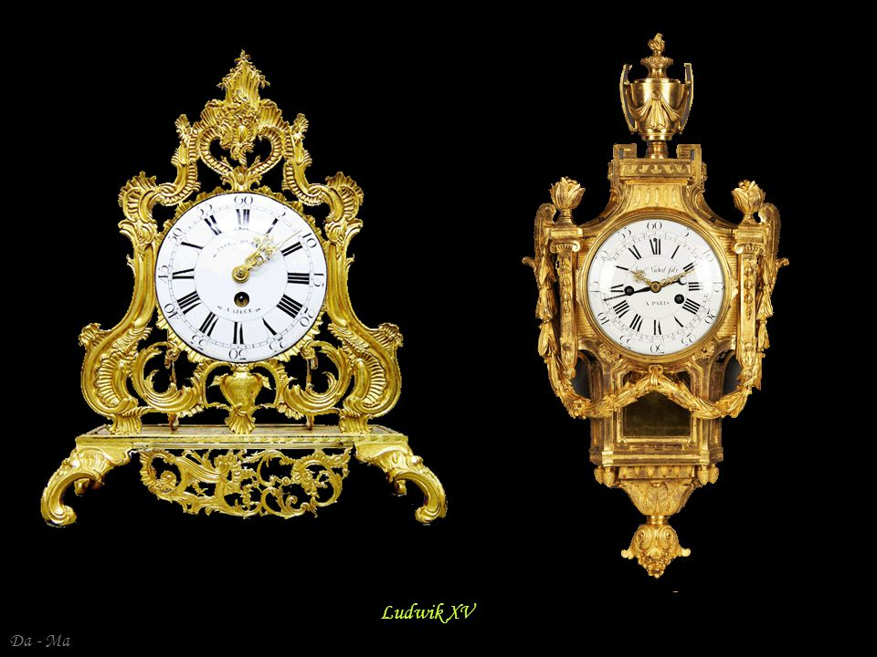 Antique French Louis XV transitional ormolu clock by Conrard a Liege circa 1750