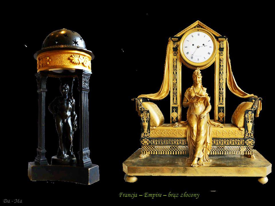 Francja – Empire – brąz złocony