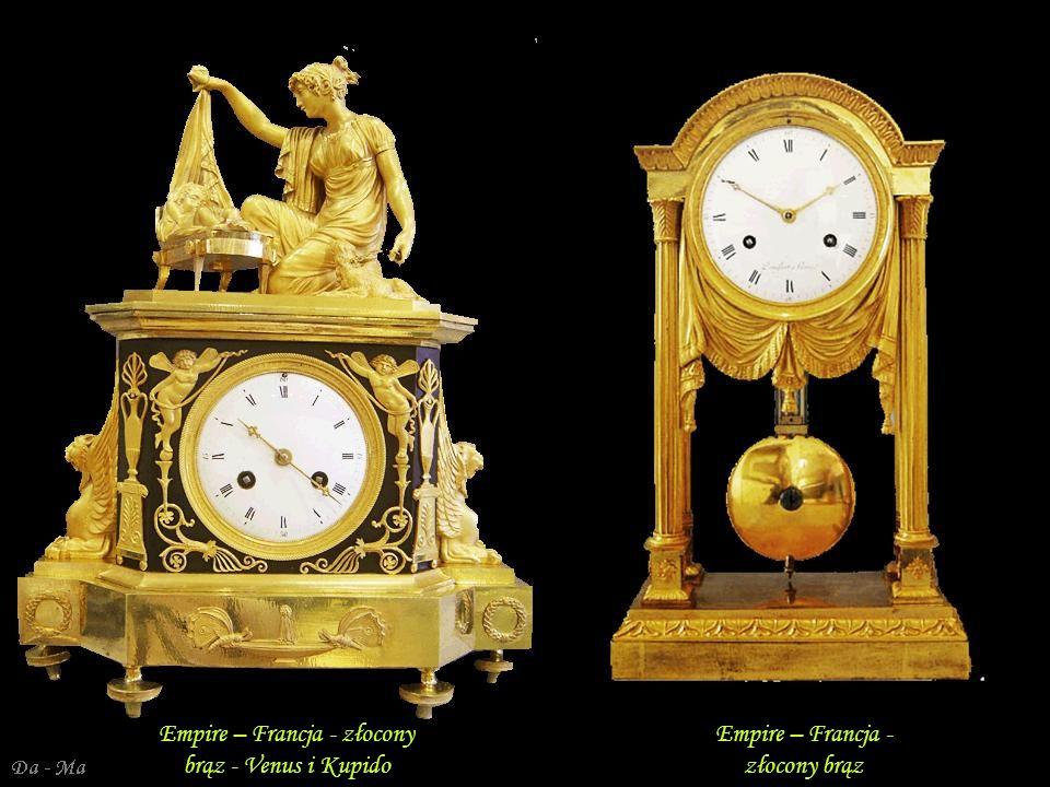 Empire – Francja - złocony brąz - Venus i Kupido