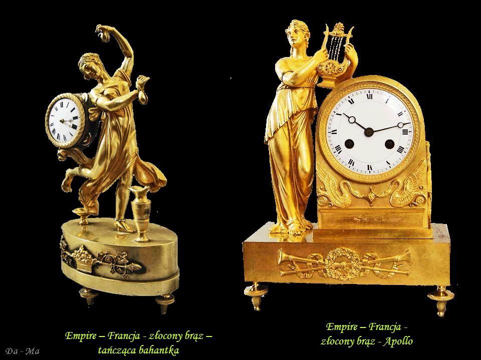 Empire – Francja - złocony brąz - Apollo