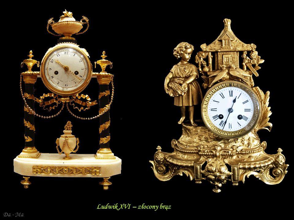 Ludwik XVI – złocony brąz