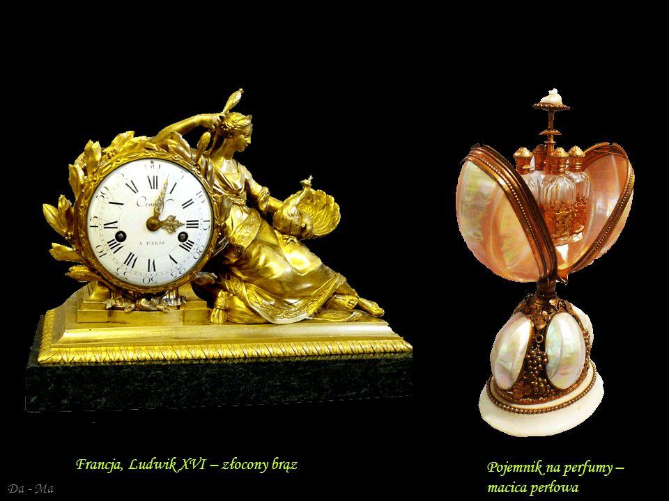 Francja, Ludwik XVI – złocony brąz