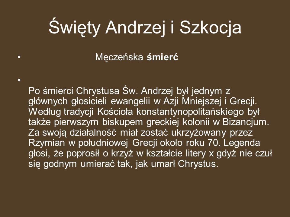 Święty Andrzej i Szkocja