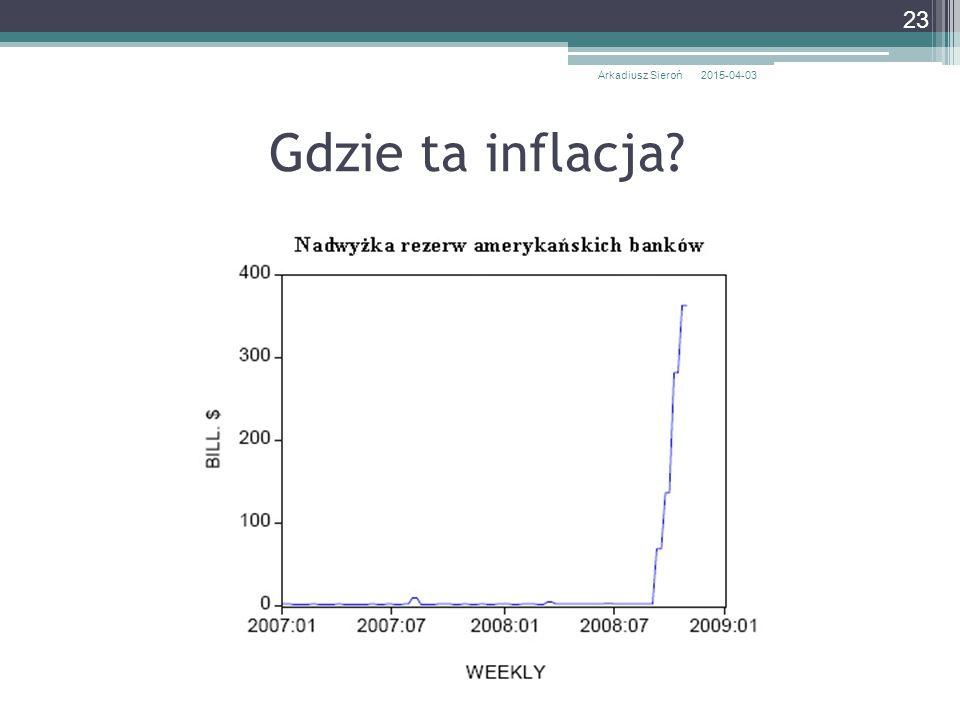 Arkadiusz Sieroń 2017-04-10 Gdzie ta inflacja