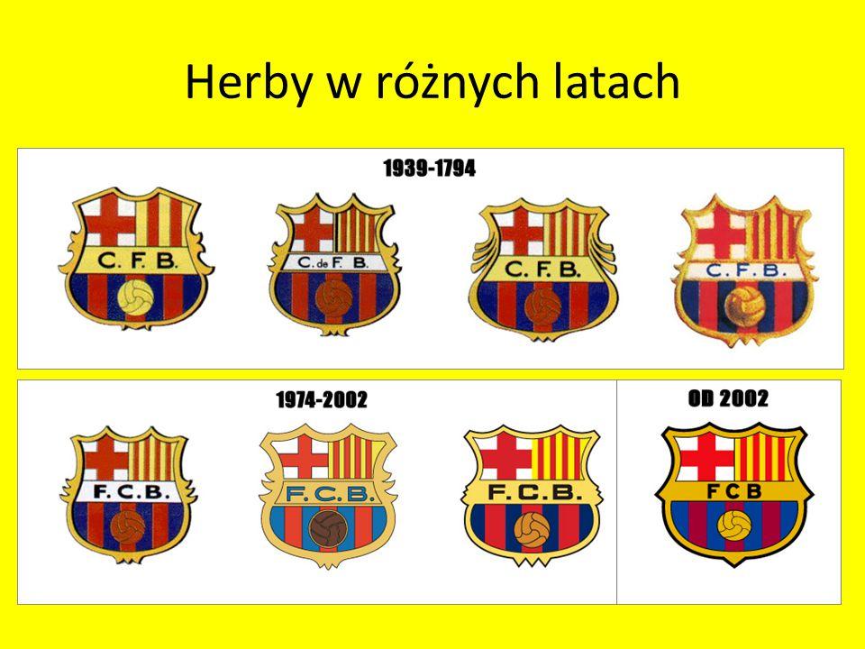 Herby w różnych latach