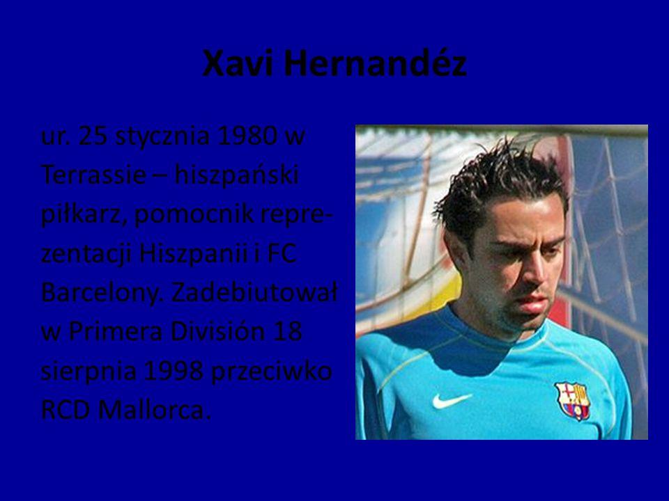 Xavi Hernandéz