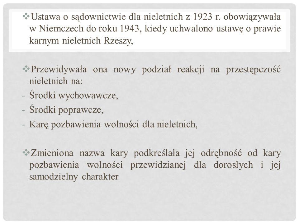 Ustawa o sądownictwie dla nieletnich z 1923 r