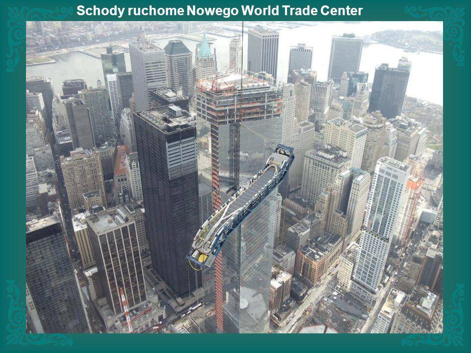Schody ruchome Nowego World Trade Center