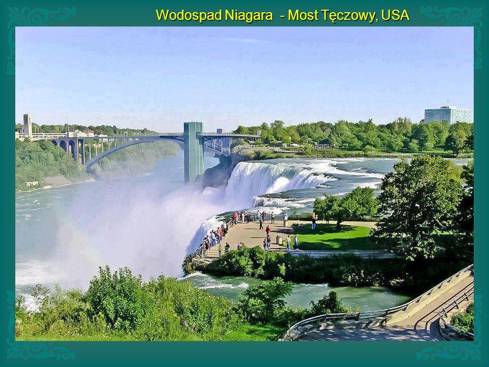 Wodospad Niagara - Most Tęczowy, USA
