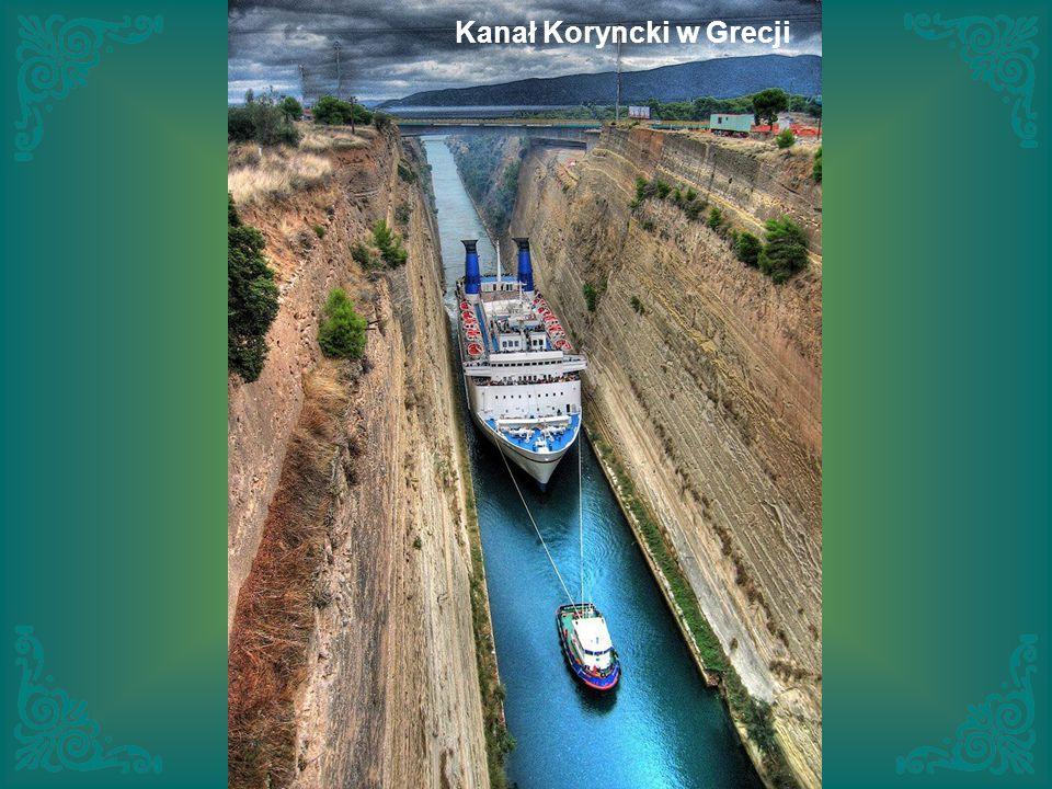 Kanał Koryncki w Grecji