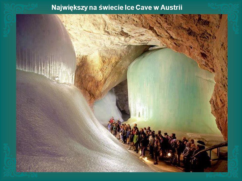 Największy na świecie Ice Cave w Austrii
