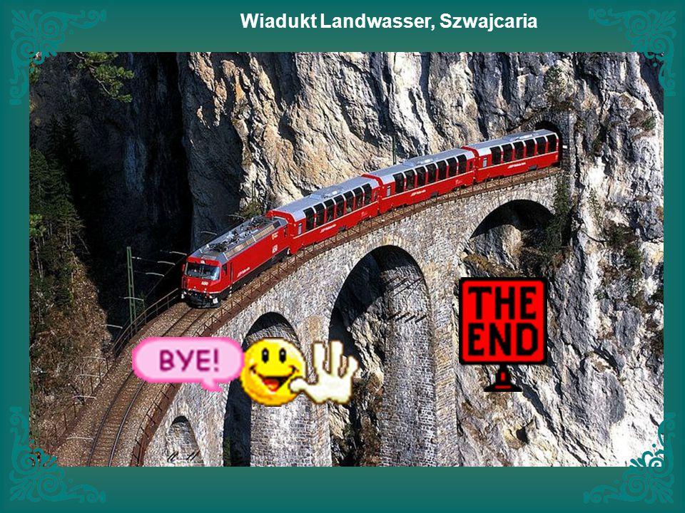Wiadukt Landwasser, Szwajcaria
