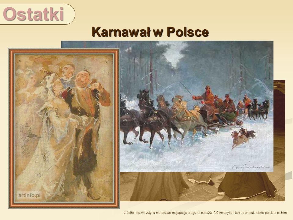 Ostatki Karnawał w Polsce