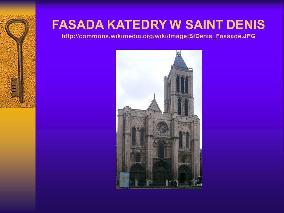 FASADA KATEDRY W SAINT DENIS http://commons. wikimedia