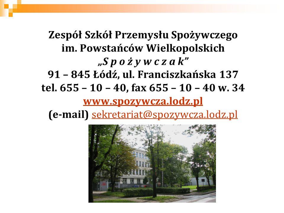 Zespół Szkół Przemysłu Spożywczego im. Powstańców Wielkopolskich