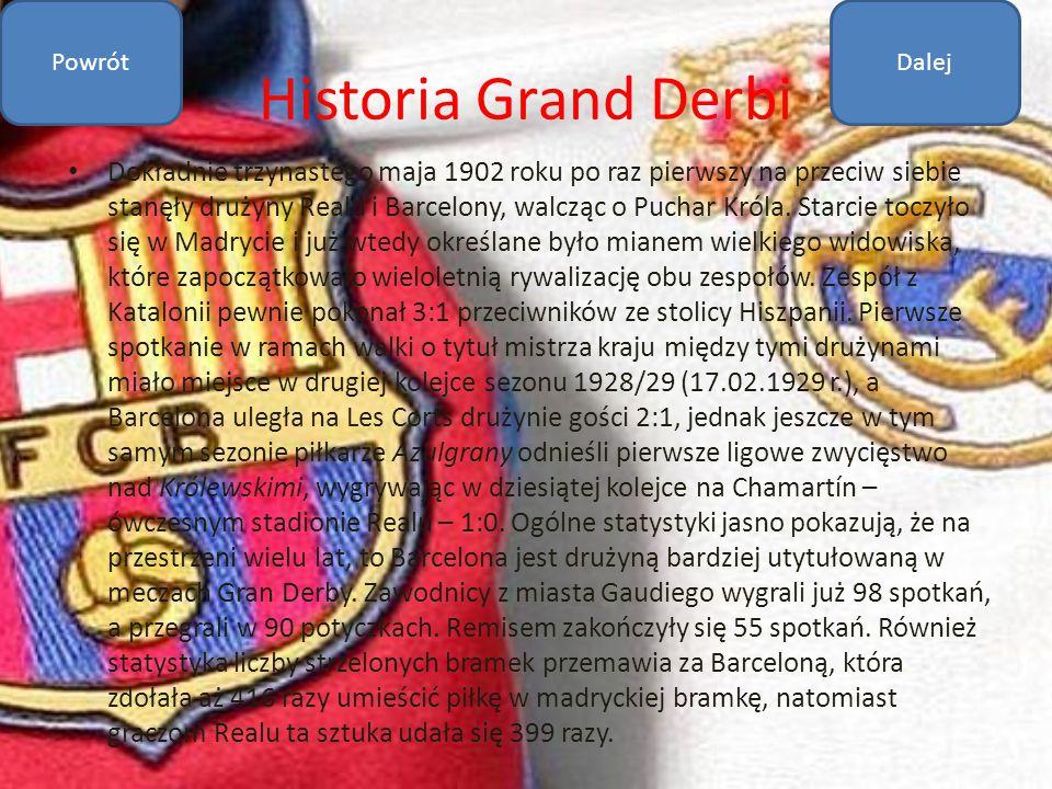 Powrót Dalej. Historia Grand Derbi.
