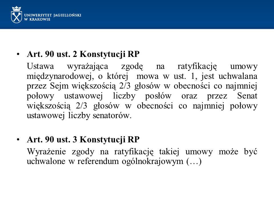 Art. 90 ust. 2 Konstytucji RP