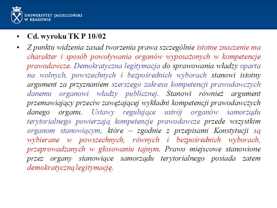 Cd. wyroku TK P 10/02