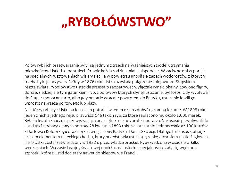 """""""RYBOŁÓWSTWO"""