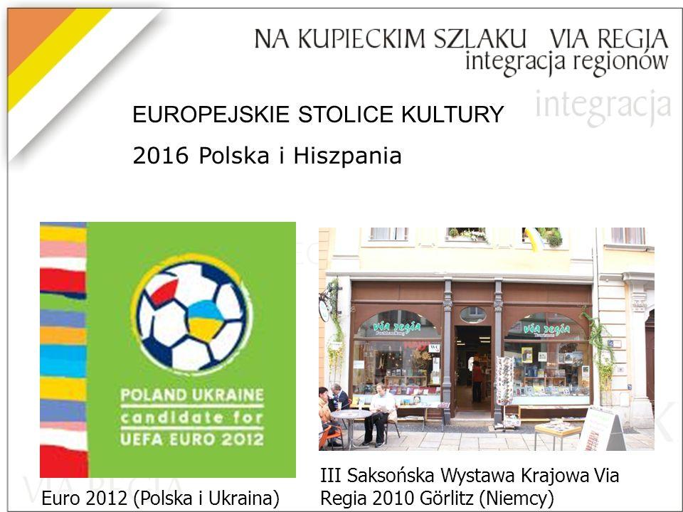 EUROPEJSKIE STOLICE KULTURY 2016 Polska i Hiszpania