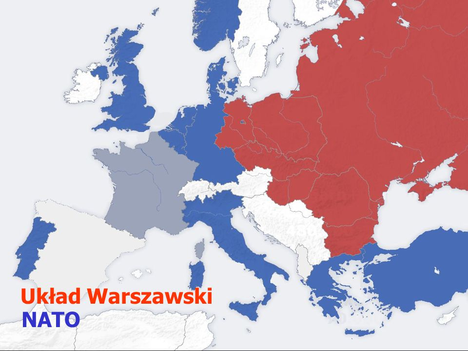 Układ Warszawski NATO NATO Układ warszawski