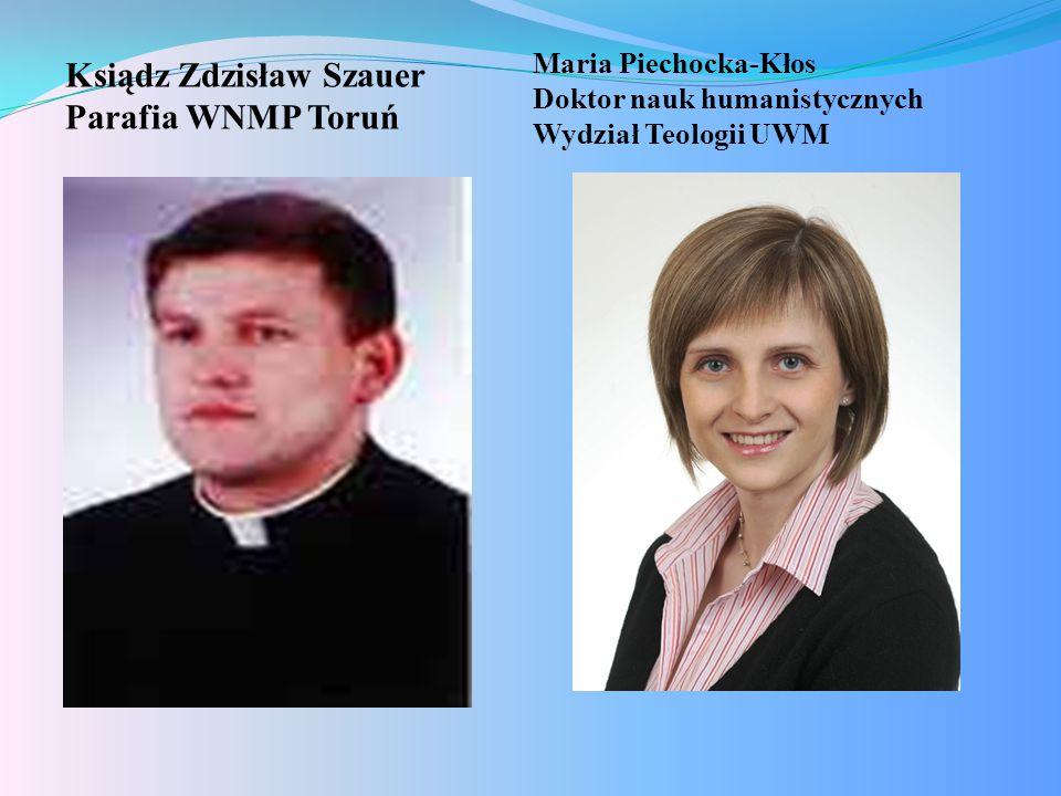 Ksiądz Zdzisław Szauer Parafia WNMP Toruń
