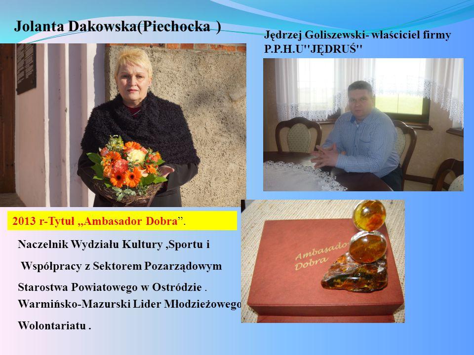 Jolanta Dakowska(Piechocka )