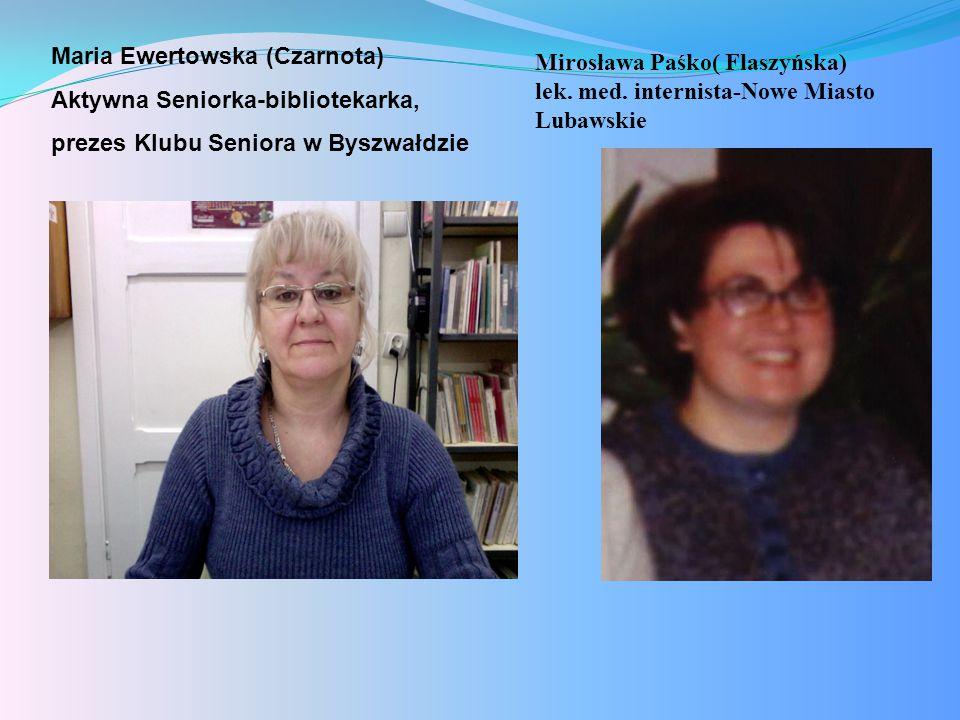 Maria Ewertowska (Czarnota)