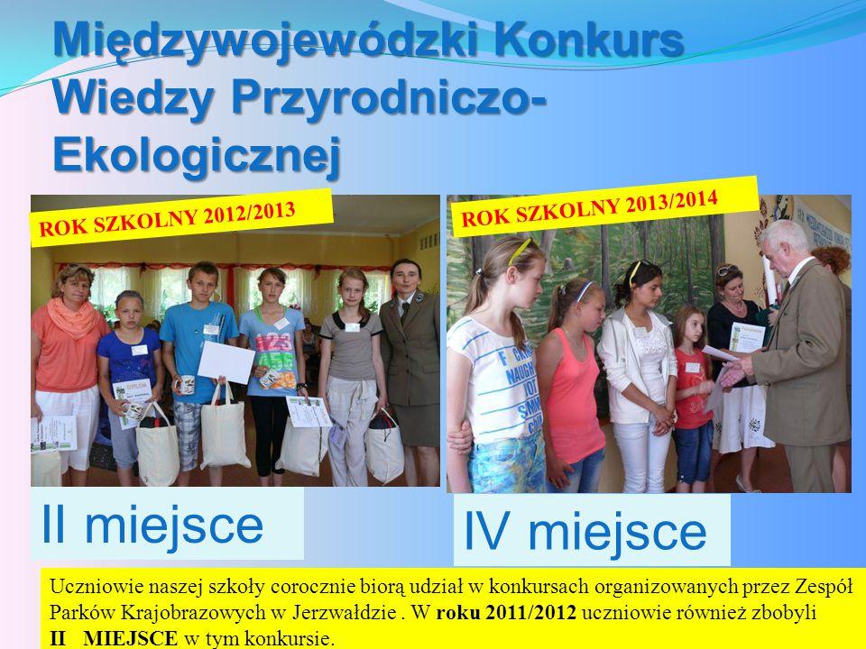Międzywojewódzki Konkurs Wiedzy Przyrodniczo-Ekologicznej