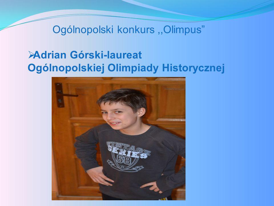 Ogólnopolski konkurs ,,Olimpus