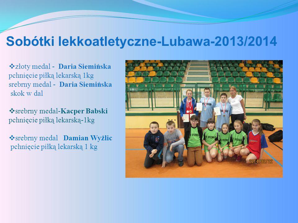 Sobótki lekkoatletyczne-Lubawa-2013/2014