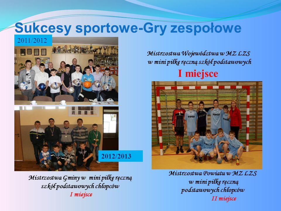 Sukcesy sportowe-Gry zespołowe