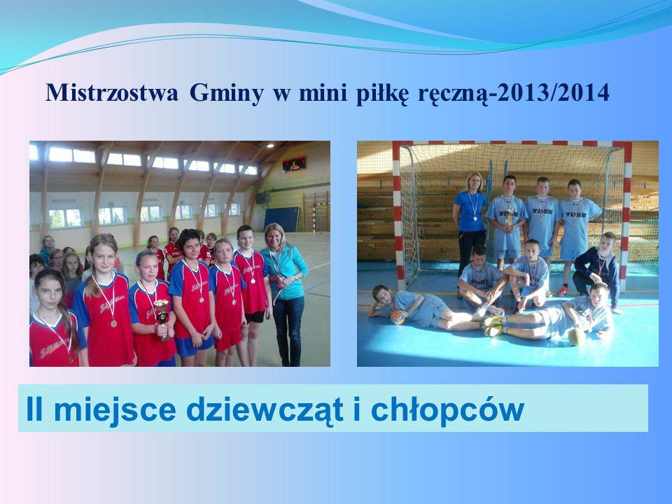 Mistrzostwa Gminy w mini piłkę ręczną-2013/2014