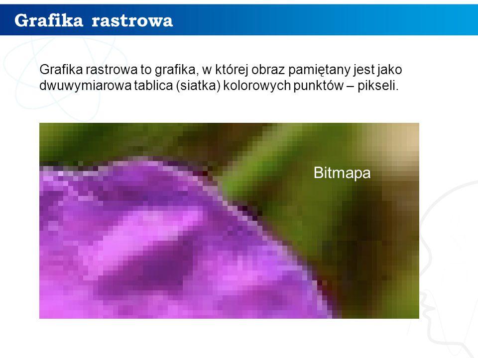 Grafika rastrowa Bitmapa 4