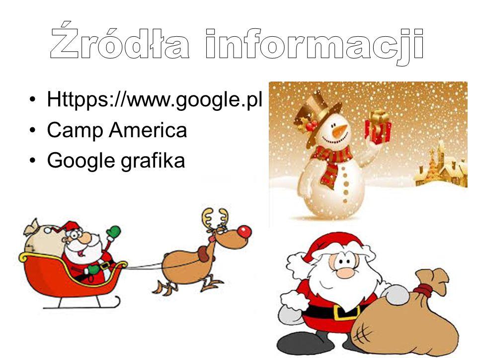 Źródła informacji Httpps://www.google.pl Camp America Google grafika