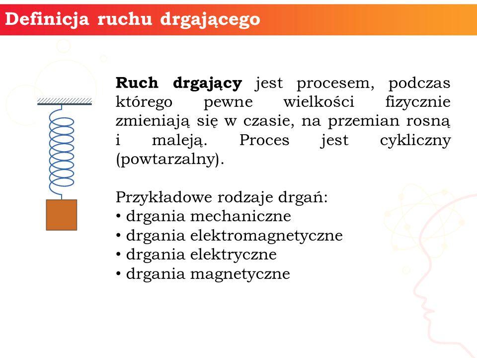 Definicja ruchu drgającego