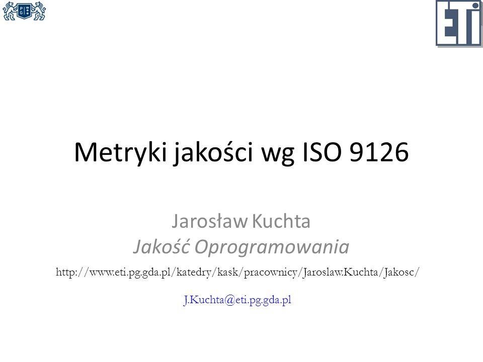 Jarosław Kuchta Jakość Oprogramowania