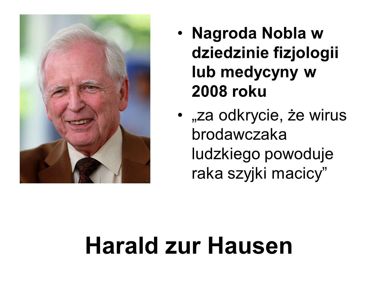 Nagroda Nobla w dziedzinie fizjologii lub medycyny w 2008 roku