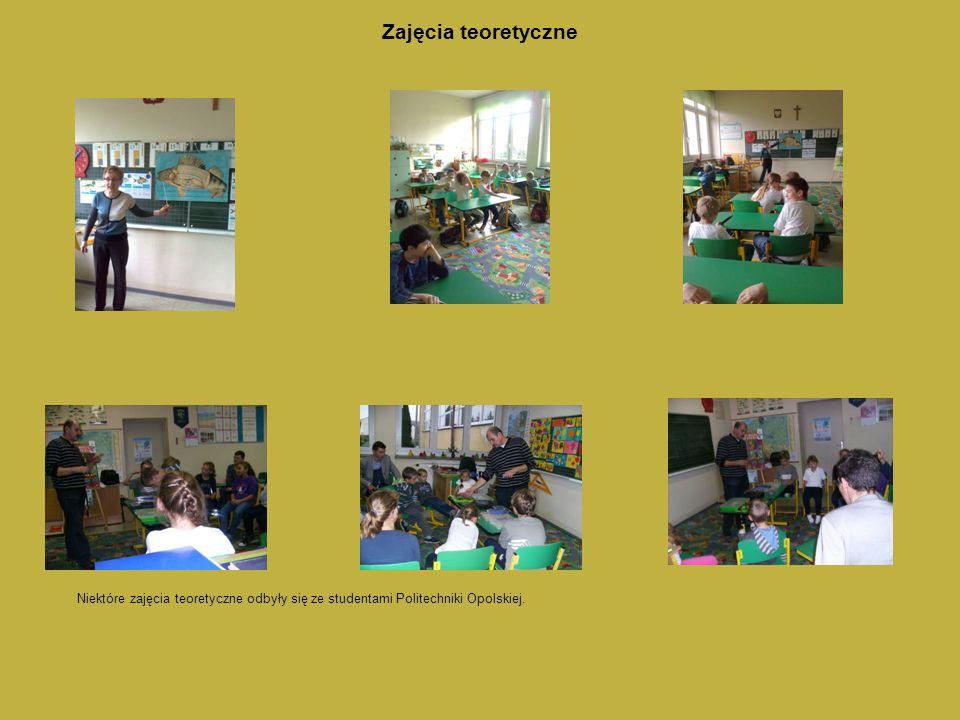 Zajęcia teoretyczne Niektóre zajęcia teoretyczne odbyły się ze studentami Politechniki Opolskiej.